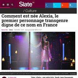 Alexia, premier personnage transgenre...