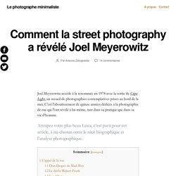 Comment la street photography a révélé Joel Meyerowitz