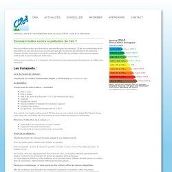 Comment lutter contre la pollution de l'air? - Qualité de l'air sur l'Ile de La Réunion