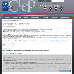 CIEP - Assistant français