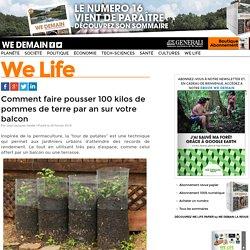 Comment faire pousser 100 kilos de pommes de terre par an sur votre balcon
