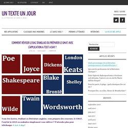 Comment réviser le bac d'anglais ou préparer le GMAT avec l'application A text A day ? – Un Texte Un Jour