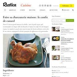 Comment préparer un confit de canard : recette