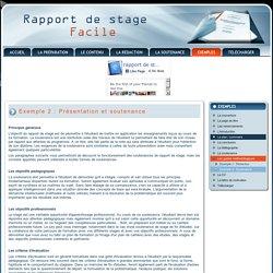 Comment présenter et soutenir son rapport de stage ?