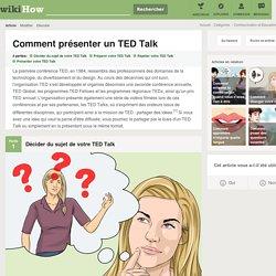 Comment présenter un TED Talk: 18 étapes