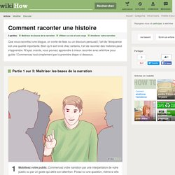 Comment raconter une histoire: 17 étapes - wikiHow