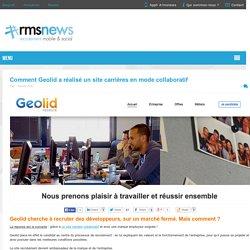 Comment Geolid a réalisé un site carrières collaboratif