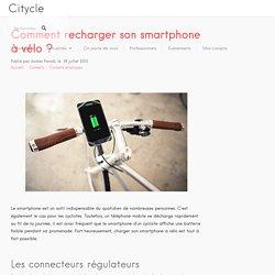 Comment recharger son smartphone à vélo?