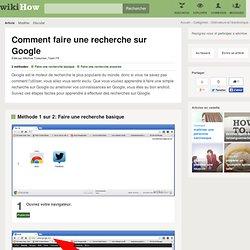 Comment faire une recherche sur Google: 15 étapes