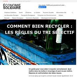 Comment bien recycler – les règles du tri sélectif