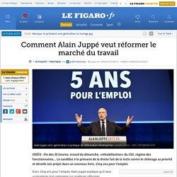 Comment Alain Juppé veut réformer le marché du travail