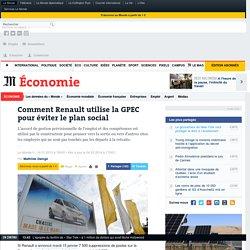 Comment Renault utilise la GPEC pour éviter le plan social