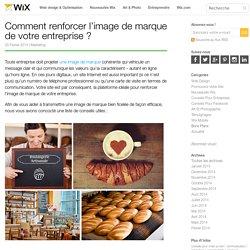 Comment renforcer votre image de marque - Wix.com