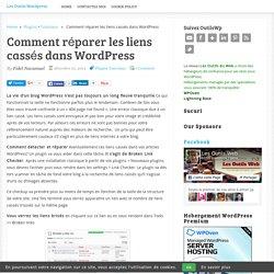 Comment réparer les liens cassés dans WordPress