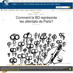 Comment la BD représente les attentats de Paris?