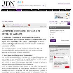 Comment les réseaux sociaux ont envahi le Web 2.0