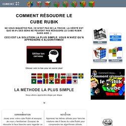 Comment résoudre le cube Rubik