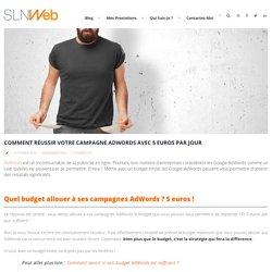 Comment réussir votre campagne AdWords avec 5 euros par jour