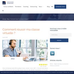 Comment réussir ma classe virtuelle ? - ISTF