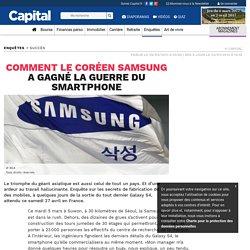 Comment le coréen Samsung a gagné la guerre du smartphone