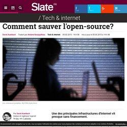 Comment sauver l'open-source?