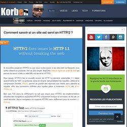 Comment savoir si un site est servi en HTTP/2 ? «