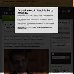 Voici comment sécuriser vos mots de passe selon Edward Snowden
