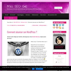 Comment sécuriser son WordPress