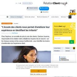 Comment Sephora écoute ses clients et détecte les irritants DOC1
