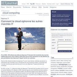 Le cloud affectera 1000 Md$ de dépenses IT d'ici 2020