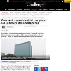 Comment Huawei s'est fait une place sur le marché des smartphones - 16 janvier 2016