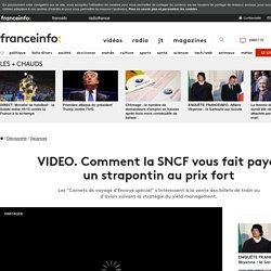 Comment la SNCF vous fait payer un strapontin au prix fort