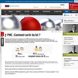 PME : Comment sortir du lot ?