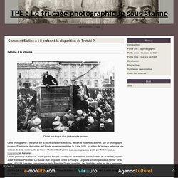 Comment Staline a-t-il ordonné la disparition de Trotski ?