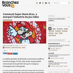 Comment Super Mario Bros. a marqué l'industrie du jeu vidéo
