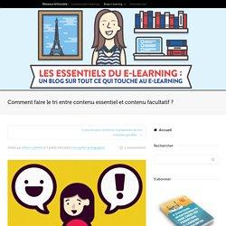 Comment enlever le superflu de votre module e-learning