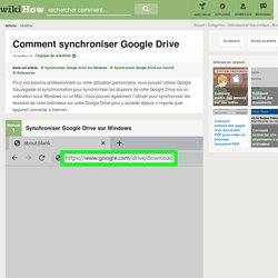 Comment synchroniser Google Drive: 41 étapes
