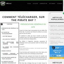 Comment télécharger, sur The Pirate Bay ?
