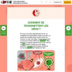 Comment se transmettent les virus?