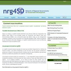 Le compromis global des régions du Nord et du Sud pour le développement durable | nrg4sd.org