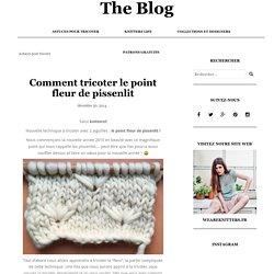 Comment tricoter le point fleur de pissenlit