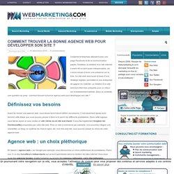 Comment trouver la bonne agence web pour développer son site ?