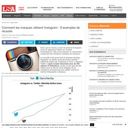 Comment les marques utilisent Instagram : 8...