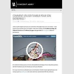 Comment utiliser Tumblr pour son entreprise ?