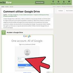 4 manières de utiliser Google Drive