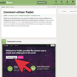 Comment utiliser Padlet: 20 étapes (avec des photos)
