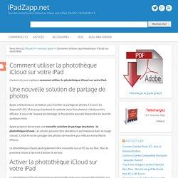 Comment utiliser la photothèque iCloud sur votre iPad