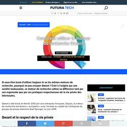 Comment utiliser le moteur de recherche Qwant