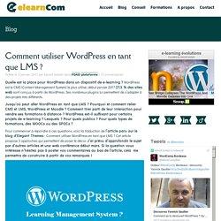 Comment utiliser WordPress en tant que LMS ? – Former Bouger