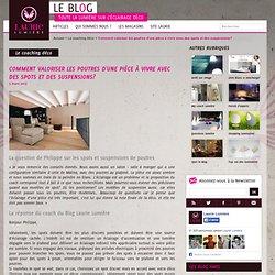 Comment valoriser les poutres d'une pièce à vivre avec des spots et des suspensions? – Le blog Laurie Lumière